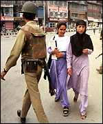 Patrolling in Kashmir