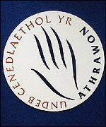NUT Welsh logo
