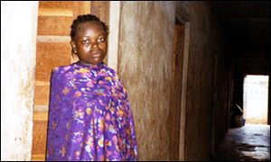 A Nigerian girl sold into slavery