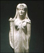 Marble statue of Cleopatra VII, c 51-30 BC