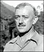 Sir Alec Guinness in the Bridge on the River Kwai