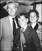 Sir Alec Guinness and family