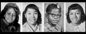 The bomb killed four black girls