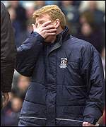Coventry manager Gordon Strachan