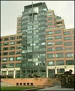 The EBRD headquarters in London;