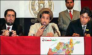 Ahmed Shah Masood press conference