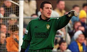 Mark Goodlad, Port Vale goalkeeper