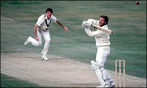 Ian Botham on his way to 149 not out against Australia, Headingley 1981