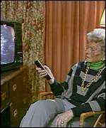 TV campaigner Mary Whitehouse