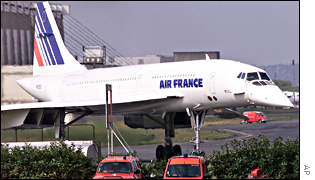 Air France Concorde prepares for test flight