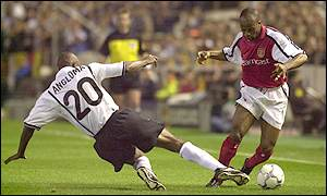 Wiltord beats Angloma