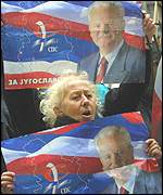 Pro Milosevic demonstration