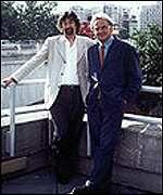 Trevor Nunn with Sir Richard Eyre