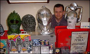Dave Willcox and monster heads