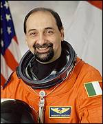 Dr Umberto Guidoni, Nasa picture
