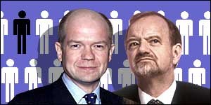 William Hague and Robin Cook