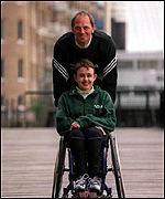 Steve Redgrave will join Tanni in the London Marathon