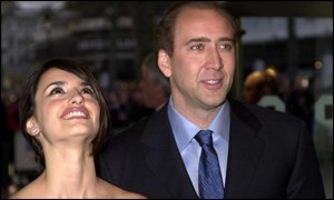 Penelope Cruz and Nicholas Cage