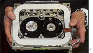 Flight 990 data recorder