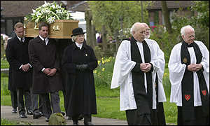 Sir Harry's funeral