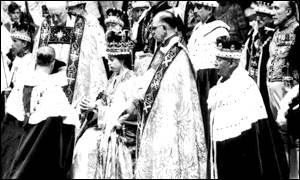 Queen Elizabeth II's coronation in 1953