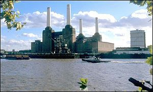 River Thames and Battersea Power Station