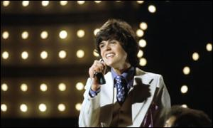 Donny Osmond, performing