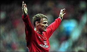 Teddy Sheringham has scored 20 goals so far this season