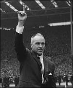 Bill Shankly led the club to their first European success