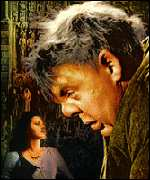 Maureen O'Hara and Charles Laughton