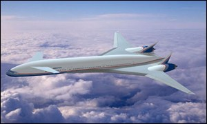 Boeing subsonic plane
