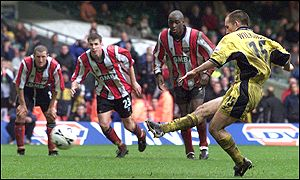 Darren Powell brought down Tony Naylor for Vale's penalty