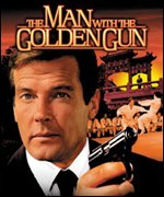 The Man with the Golden Gun starred Roger Moore and Christopher Lee