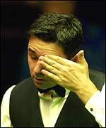 Alan McManus can't believe his eyes