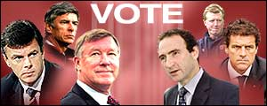 Vote for your choice as Man Utd's next manager