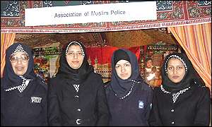 WPCs wearing hijabs