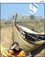 Palestinian refugee in Gaza Strip
