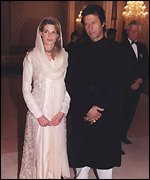 Imran is married to Jemima Khan
