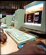 web surfing porn arrested
