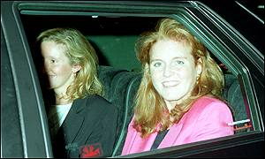 Duchess of York with (then known as) Jane Dunn-Butler