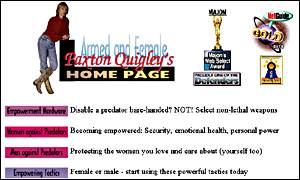Paxton Quigley's website