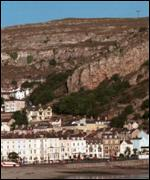 Seaside town of Llandudno, Great Orme