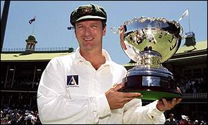Steve Waugh took the Man of the Series award