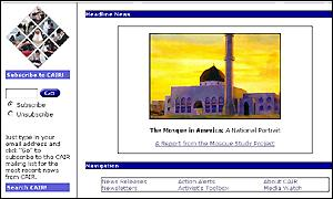 Council on American-Islamic Relations website