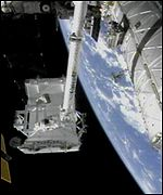 ISS robot arm Canada 2