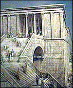 [ image: The temple that once housed the Ark was destroyed by Nebuchadnezzar]