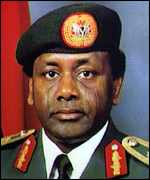 [ image: General Sani Abacha: US reports say he may have been poisoned]