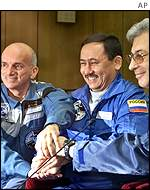 Tito and cosmonauts AP