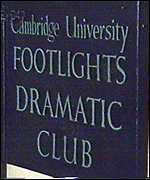 Footlights plaque
