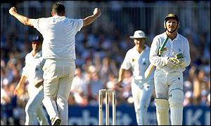 Angus Fraser helped England to restore some pride at The Oval with a last Test victory